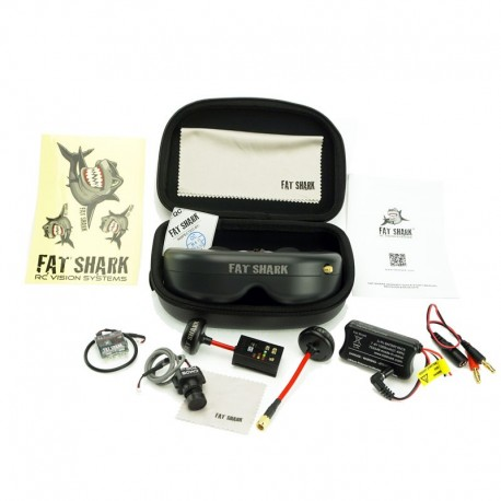 Fat Shark FSV2002-3m Base Futaba to RCA Multi Head AV Cable