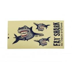 FSV4101 Fat Shark Sticker Set