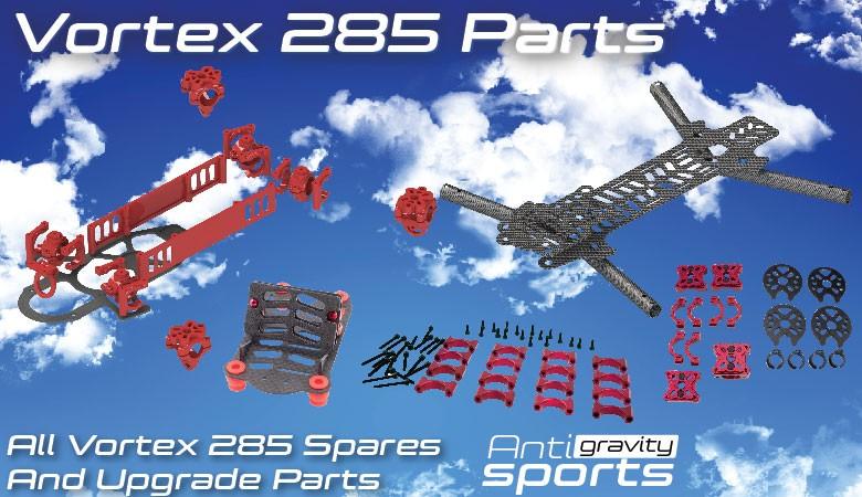 Vortex 285 Parts and Upgrades