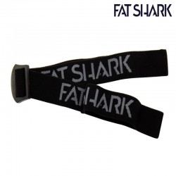 Black Headstrap with new Fat Shark Logo