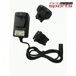 Battery charger with US/EU/UK prongs